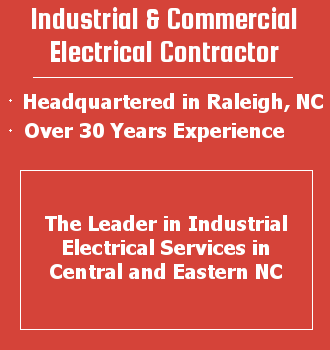 info graphic; industrial and commercial electrical contractor